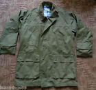 New Mens Olive Green Lined Coat Hunting Fishing Great Quality