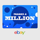 eBay Digital Gift Card - Thank You Designs - Email Delivery фото