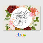 eBay Digital Gift Card - Thank You Designs - Email Delivery <br/> US Only. May take 4 hours for verification to deliver.