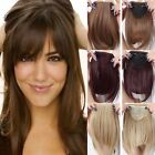 big bang theory fails - Straight Front Bangs Fringe Piece Clip In Hair Extensions Remy style Real NCW