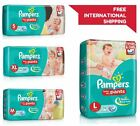 Used, Pampers Diapers Baby Pant New Light Dry Disposable Soft Size 1-2-3-4 S M L XL for sale  India