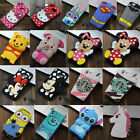 3D Cute Cartoon Soft Silicone Phone Case Back Cover Skin Shell for Sony