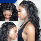 NEW Body Wave  Brazilian Remy Human Hair Lace Front Wigs Soft baby Hair 130%