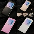 Housse Etui Coque Samsung Galaxy Flip Leather Case Cover + Stylet + Film