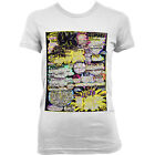 6025 ACID HOUSE ALBERO 2 T-SHIRT da donna techno GERMANIA IBIZA FRANCIA DETROIT