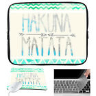 Sleeve Case Bag Cover Mouse Pad Keyboard Cover For Laptop Ultrabook Computer