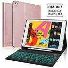 iPad 4 3 Air 2/1iPad Pro Backlight Bluetooth Keyboard Case Folio Leather Cover