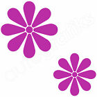 16 DAISY FLOWER Decals Mural Car Wall Art Stickers (F3)