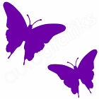 17 BUTTERFLIES Wall Art Stickers Mural Transfers Car Decals (A3)
