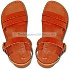 PREMIUM QUALITY, 100% LEATHER,HANDMADE Biblical Jesus Sandals-Samaria