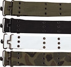 "Rothco 42"" Cotton Military Pistol Belt With Metal Buckle"
