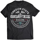 9340 Oregon State Ospedale T-Shirt Uno Flew Over the Cuckoo's Nest Salem Folle