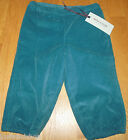 Mini a ture baby boy girl corduroy lined trousers pants 9-12 m 80 cm BNWT winter