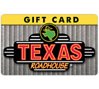 Texas Roadhouse Gift Card - $25 $50 or $100 - Email delivery  <br/> US Only. May take 4 hours for verification to deliver.