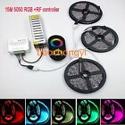 15M 20M 5050 Fita Waterproof LED RGB strip light +RF Touch Remote Controller