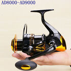 13BB RightLeft Handed Saltwater Freshwater Fishing Spinning Reel AD8000-AD9000