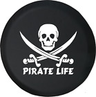 Pirate Life Skull & Swords Saltwater Edition Spare Tire Cover OEM Vinyl