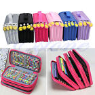 Portable Drawing Sketching Pencils Pen Case Holder Bag For 52/72Pcs Pencils New