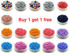 Free Shipping 200pcs 3mm 8/0 Round Czech Glass Seed Spacer Beads Jewelry Making