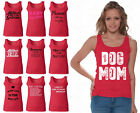 60 DESIGNS Mother's Day Women Tank Top T-shirt Mom's Gift RED - 3
