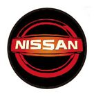Nissan LED Door Projector Courtesy Puddle Logo Lights Red