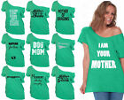 60 DESIGNS Mother's Day Off Shoulder Top T-shirt Mom's Gift KELLY-2