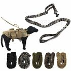 Outdoor Military Tactical Training Walk Dog Elastic Leash Nylon Strap Bungee