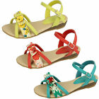 Wholesale Girls Sandals 16 Pairs Sizes 10-2  H1062
