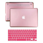 Metallic Rubberized Hard Case Keyboard Cover fo Macbook Pro 13/15 Air 13/11 Inch