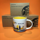 Starbucks - Starbucks YOU ARE HERE YAH City Mug YOU PICK Multiple Cities NIB With Tag