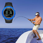 Digital Fishing Barometer Altimeter Thermometer LCD Smart Watch Outdoor Sports