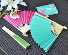 200 Colored Paper Fans Wedding Reception Favors Can Be Personalized Q16686