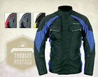 Weise Mens Colorado Black Gun / Red / Blue / Neon Textile Motorcycle Jacket New