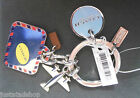 Coach key fob keyring BNWT charms