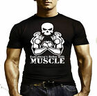 SUPER BODYBUILDING top TSHIRT Gym 1 Training Muscle Power Fitness HULK MONSTER
