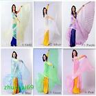 Symphony shiny transparent Egyptian belly dance clothing Isis wings 6 colors