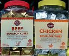 Beef or Chicken Bouillon Cubes ~ 75 Soft Cubes - Broth,Gravy - Select 1