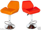 2 x brand new 100% faux leather thick padded luxury kitchen / bar stools