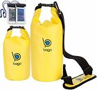 Bago Dry Bag Floating Boating Kayaking Camping Plus Waterproof CellPhone Pouches
