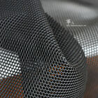 50CM *150CM Sandwich fashion designer fabric  round thick dull black Mesh fabric