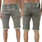 Mens 883 Police Shorts Designer Smart Denim Jeans Turn Up Pants Trousers Bottoms