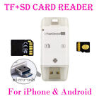 USB Flash Drive SD TF Card Reader For iPhone 8 7 6S 6 Plus 5 5S for iPad Android