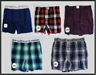 NWT American Eagle AE AEO Men's Plaid  Dots Boxers Underwear S M L XL NEW