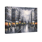 Large Canvas Print Wall Art Home Decor Paris Street Painting