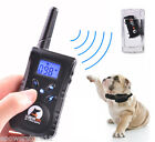 LED Remote Pet Dog Training Collar E-Collar Safe Trainer Rechargeable Waterproof