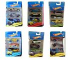 New Mattel Hot Wheels Pack of 3 Die-Cast Mini Vehicles Cars Toys