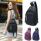 Water Resistant Convertible Nylon Small Backpack Rucksack Chest Sling Pack Bag