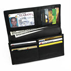 FancyStyle Luxury Genuine Leather RFID Wallet for Men NFC Black Brown Red Yellow