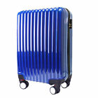 Travel Luggage 8 Wheel Spinner Trolley Hard Shell Suitcase 6 Color 20 24 28 inch
