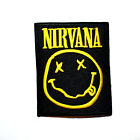 Nirvana Nevermind Hard Rock Music band Embroidered Jeans Shirt Bag Iron on Patch